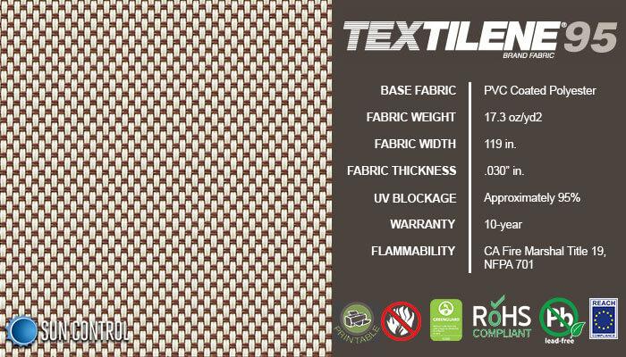 Textilene 95 Almond Brown