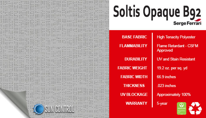 Soltis Opaque B92 Alu