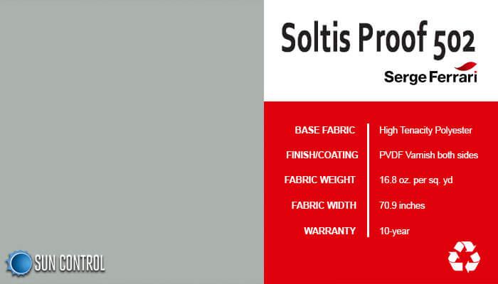Soltis Proof 502 Aluminium