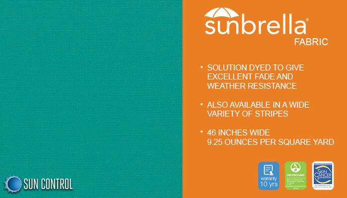 Sunbrella Solid Aquamarine