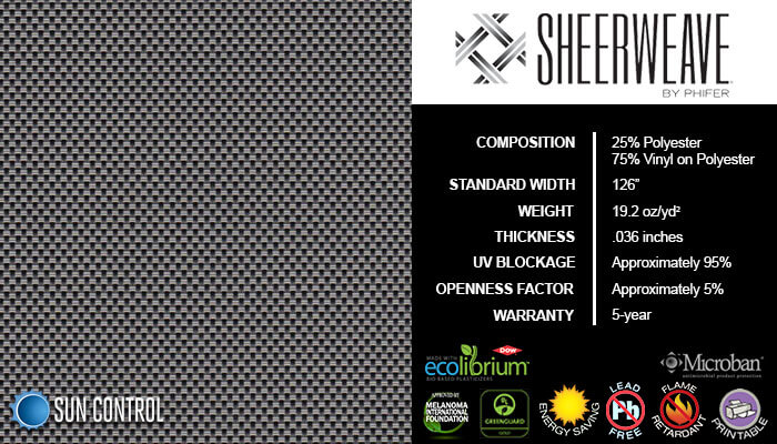 SheerWeave 4000 Eco Ash