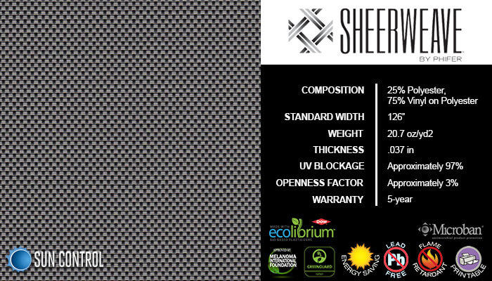 SheerWeave 4400 Eco Ash