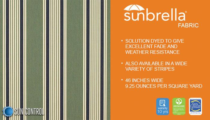 Sunbrella Stripe Ashford Stripe