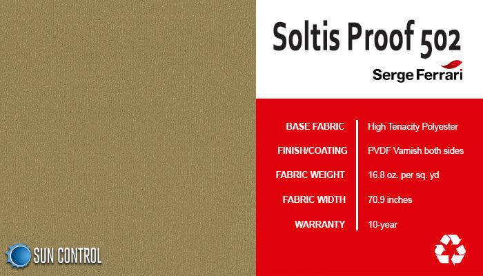 Soltis Proof 502 Automn