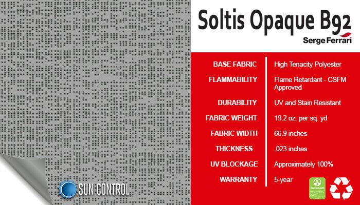 Soltis Opaque B92 Beaten Metal