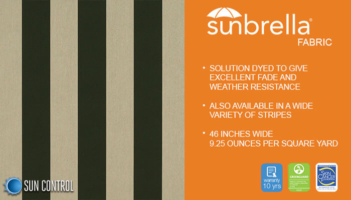 Sunbrella Mayfield Beaufort Alpine Beige