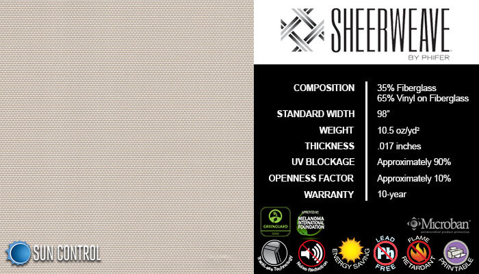 SheerWeave 2360 Beige