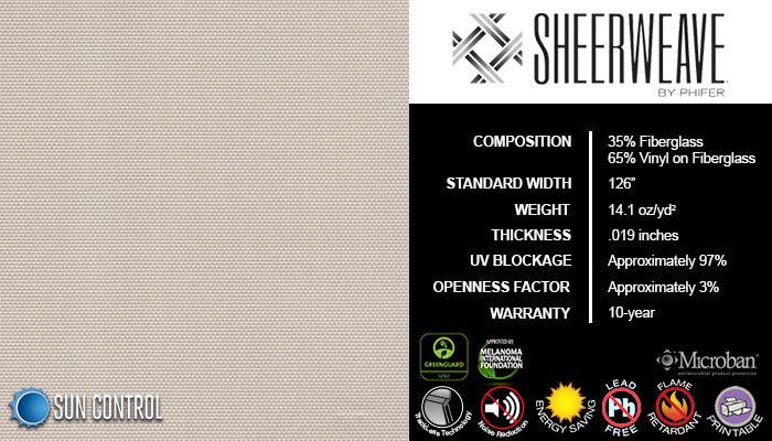 SheerWeave 2410 Beige