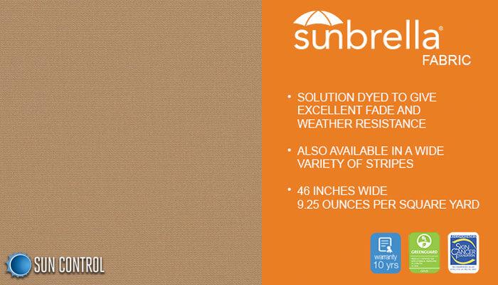 Sunbrella Solid Beige