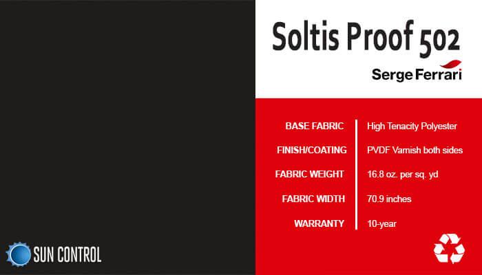 Soltis Proof 502 Black