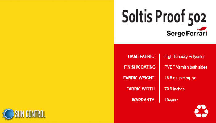 Soltis Proof 502 Buttercup