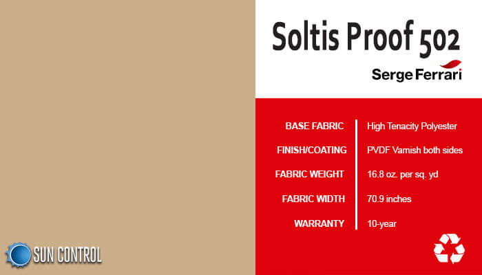 Soltis Proof 502 Camel