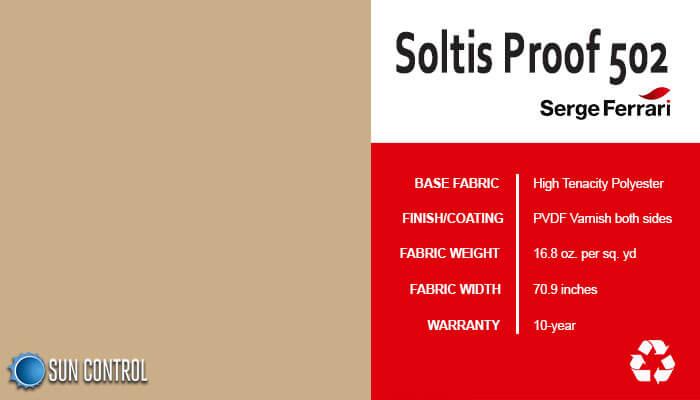 Soltis Proof 502 Camel