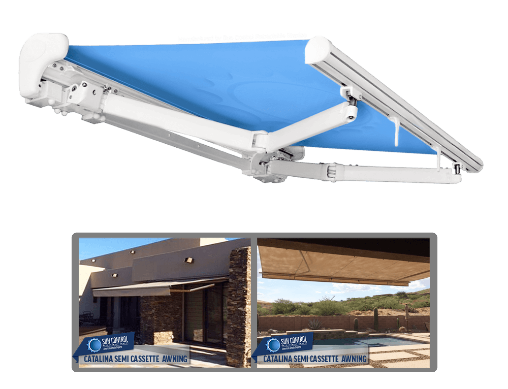 Retractable Awnings - Patio Awnings | SW Sun Control Shade