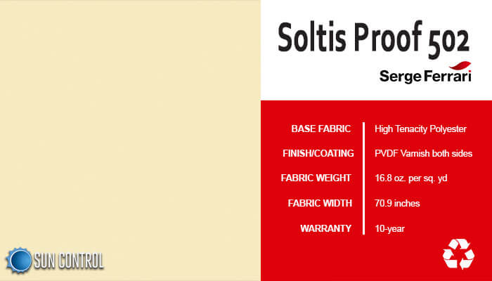 Soltis Proof 502 Champagne