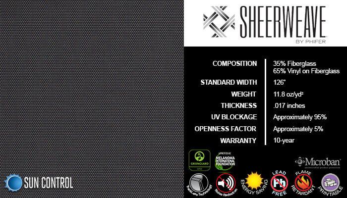 SheerWeave 2390 Charcoal