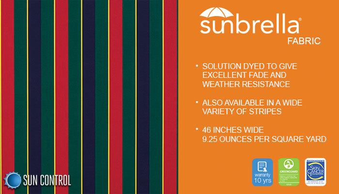 Sunbrella Stripe Classic Regimental