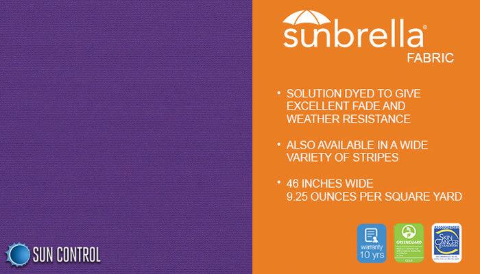 Sunbrella Solid Concord