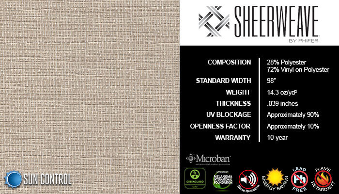 SheerWeave 5000 Crepe Toasted Coconut