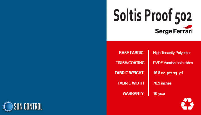 Soltis Proof 502 Dark Blue