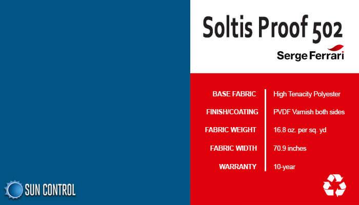 Soltis Proof 502 Dark Blue