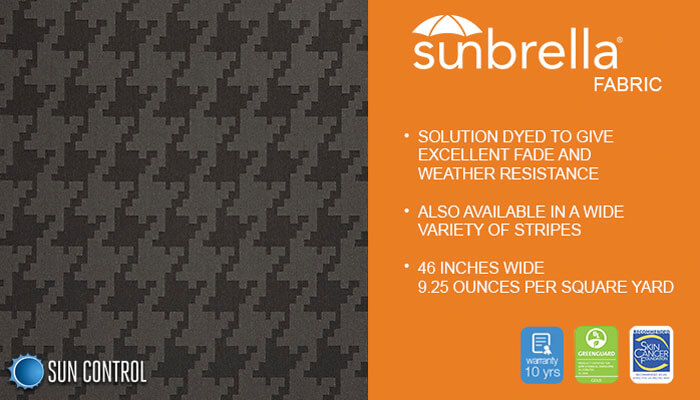 Sunbrella Decorative Fundamental Charcoal