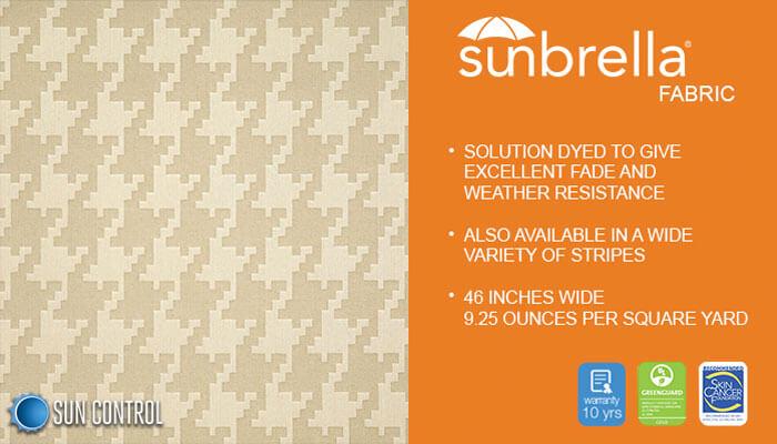 Sunbrella Decorative Fundamental Sand