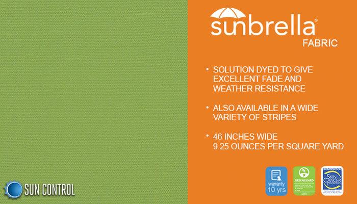 Sunbrella Solid Ginko