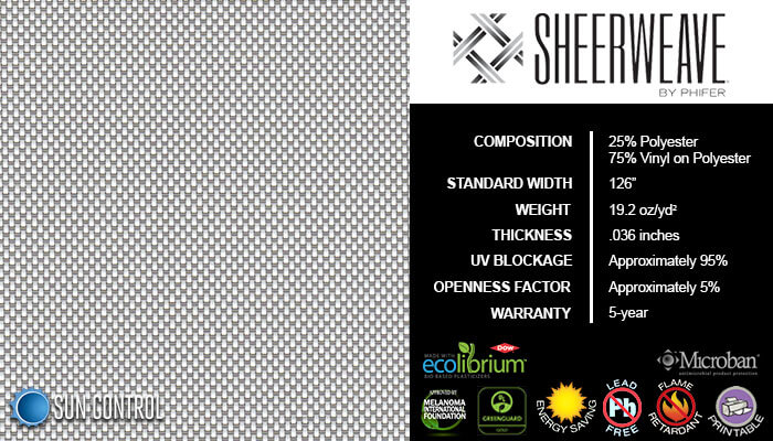 SheerWeave 4000 Eco Granite