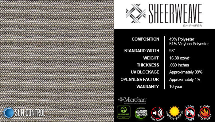 SheerWeave 5000 Jute Coffee