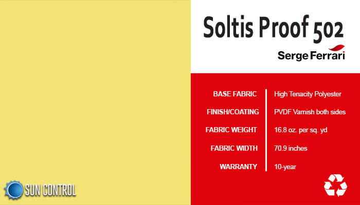Soltis Proof 502 Lemon