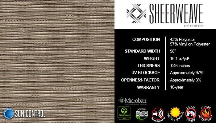 SheerWeave 5000 Linen Burlap