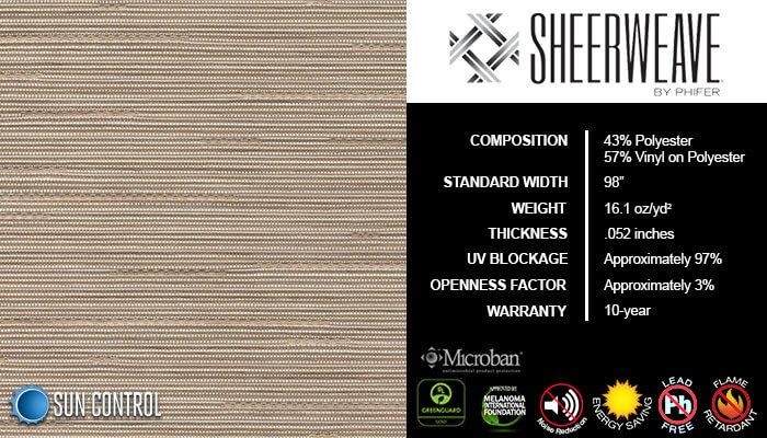 SheerWeave 5000 Linen Cream