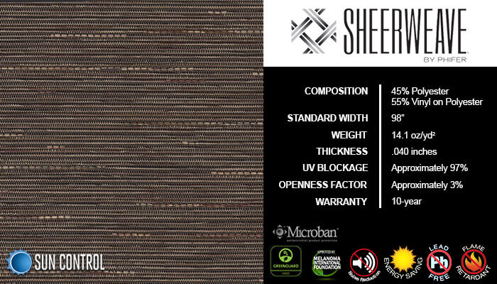 SheerWeave 5000 Linen Fig