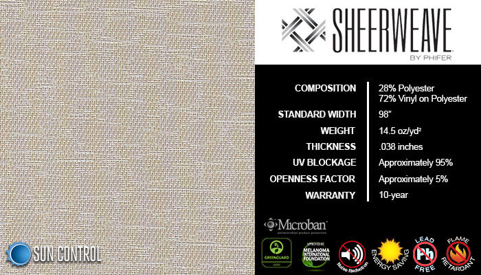 SheerWeave 5000 Marble Sand