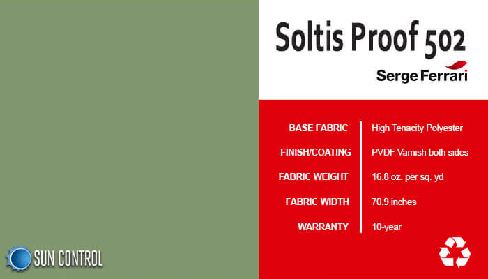 Soltis Proof 502 Moss Green