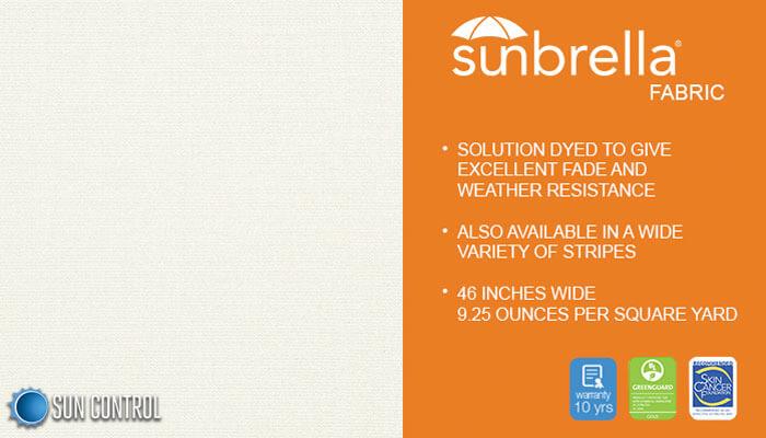 Sunbrella Solid Natural