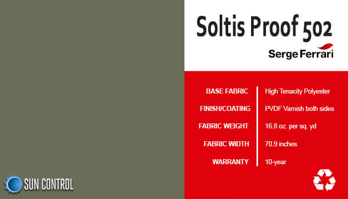 Soltis Proof 502 Olive