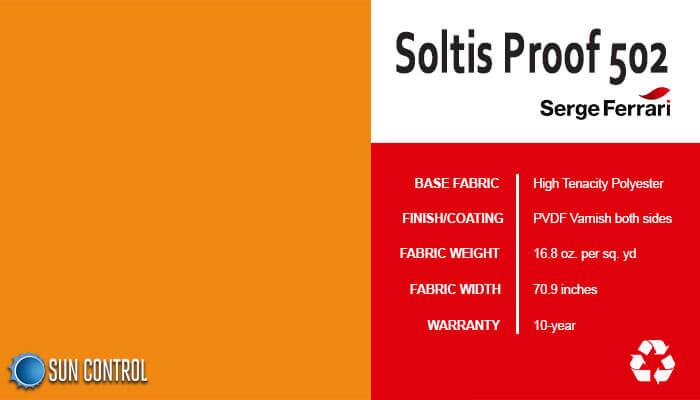 Soltis Proof 502 Orange