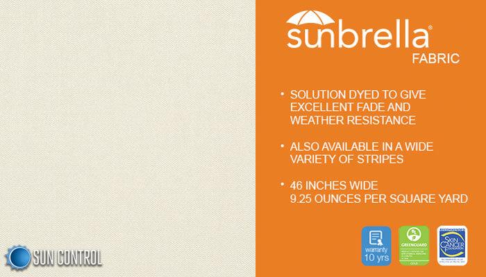Sunbrella Solid Oyster