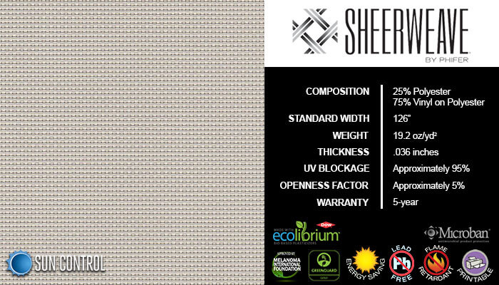 SheerWeave 4000 Eco Pebblestone