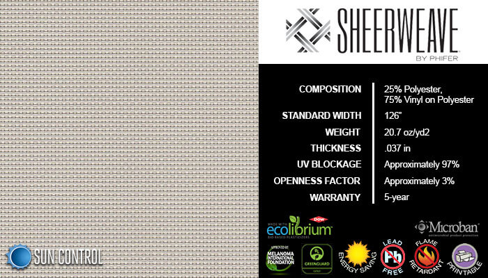 SheerWeave 4400 Pebblestone