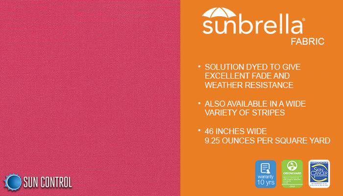 Sunbrella Mayfield Pink