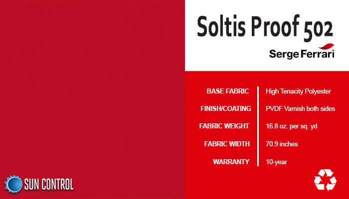 Soltis Proof 502 Poppy