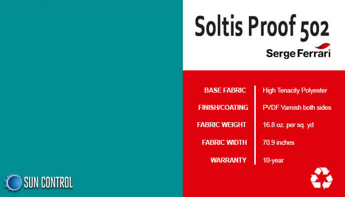 Soltis Proof 502 Porcelain Green