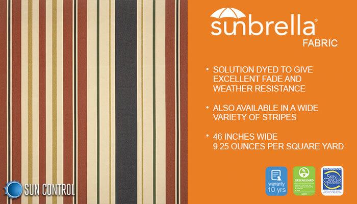 Sunbrella Stripe Providence Americana