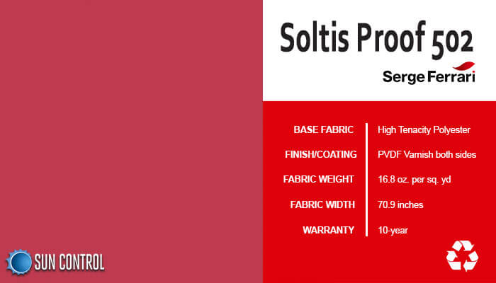 Soltis Proof 502 Raspberry