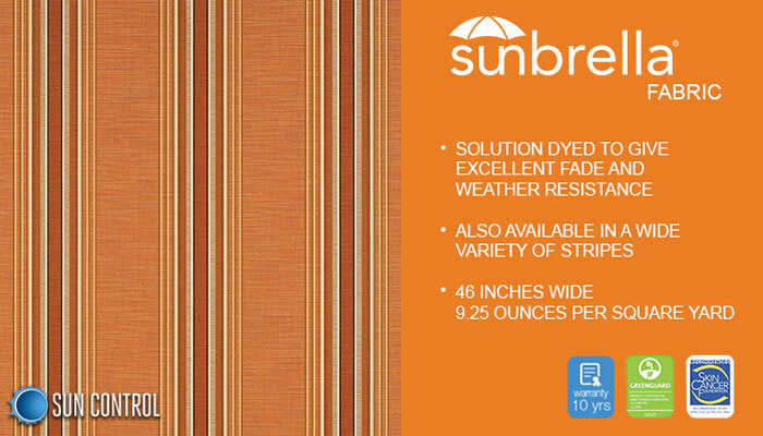 Sunbrella Stripe Rodanthe Sunrise