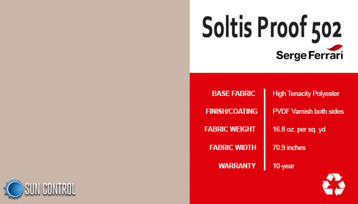 Soltis Proof 502 Sandy Beige