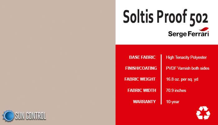 Soltis Proof 502 Sandy Beige